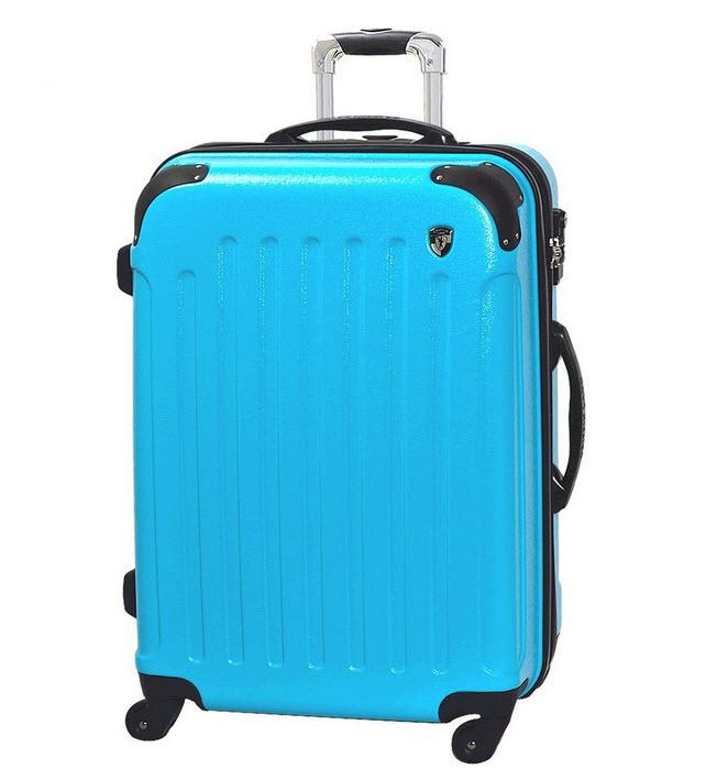 グリフィンランドのスーツケースをグアムにTSAロックで安全