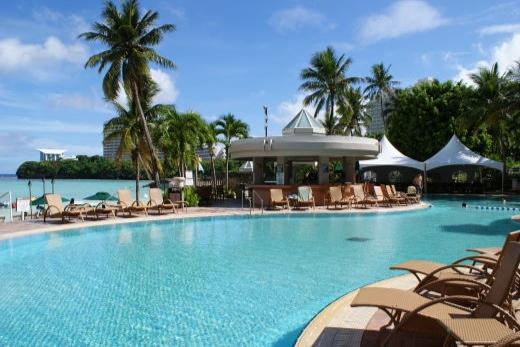 ウェスティンリゾートグアムのプール