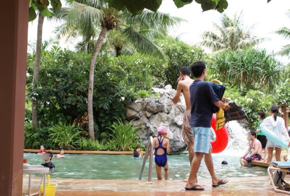 アウトリガーグアムのプール